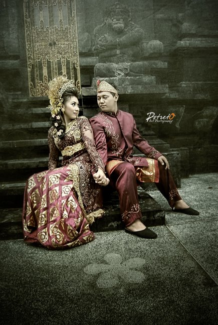 Indonesian Traditional Pre Wedding Photoshoot Foto Prewedding