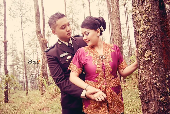 Foto Pre Wedding Polisi Prewedding Anggota Polisi Prewedding Ala